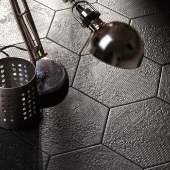Azulejos y baldosas hexagonales nuevas tendencias cer micas - Azulejos para terraza ...